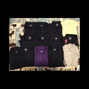 13 girls polo shirt 14/16